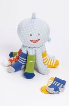 'Mr. Sock T. Pus' warm.