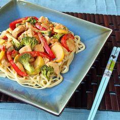 How To Make Chicken Thai Stir-Fry with Peanut Sauce Chicken Recipe