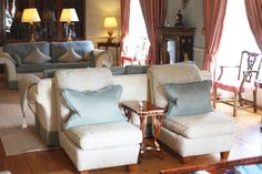 Confetti Magazine Irish Wedding Venue of the Month June - Tankardstown House Wingback Chair, Armchair, Sofa, Couch, Accent Chairs, Country, Luxury, Irish Wedding, Confetti