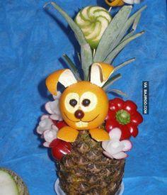 Amazing Food Art | Amazing food art (21 Photos) — Bajiroo.com | Imaginative Fruit Art