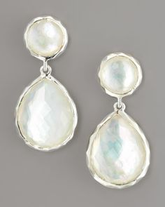 Rock Candy Drop Earrings, Mother-of-Pearl by Ippolita at Neiman Marcus.