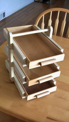 Woodworking Plans, The Dinner Transport System on Etsy, $6.00