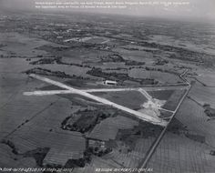 Neilson Airport under construction, now Ayala Triangle, Ma… | Flickr Makati City, March 20th, National Archives, Under Construction, Historical Photos, Airplane View, Air Force, Triangle, Army