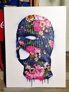 Ski mask art