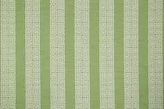 Greek Stripe - Robert Allen Fabrics Spring Grass