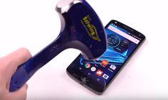 Motorola Droid Turbo 2'nin ekranı kırılmıyor #Tech #Mobile Tech, Technology
