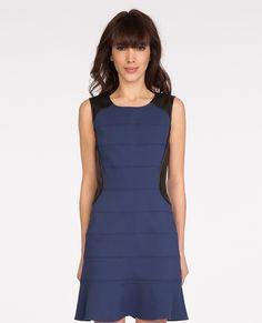 Fabric blend dress | Dresses | Comptoir des Cotonniers