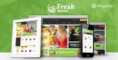 Ves Freshmarket Responsive Magento 2 & 1 Theme . Ves Freshmarket Store is Multil Stores, Multil Websites Responsive and elegant Magento Theme. It is implemented responsive design make sure the pages adjust automatically to the screens size . The clean and modern design allows you to use the theme for every kind of online shop such as Fresh store,