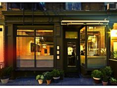 Wallflower in West Village:  intimate, great for catching up with friends or a small group for special occasions