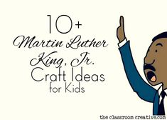 martin luther king craft ideas for kids
