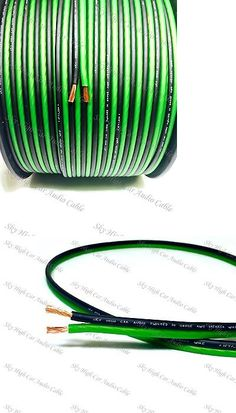 power and speaker wire orion car audio zpw8250rd orion ztreet 8 power and speaker wire 300 feet true 14 gauge awg green bk speaker wire