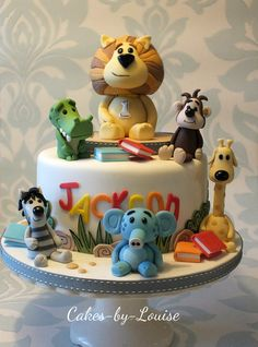 Raa Raa the Noisy Lion - Cake by Louise Jackson Cake Design - CakesDecor