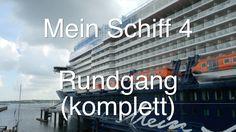 Mein Schiff 4: Live-Rundgang und Schiffstour