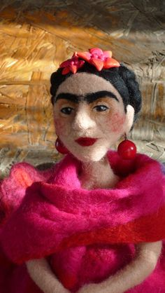 Frida Kahlo Art Doll!