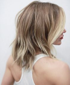 long layered bob by Buddy Porter