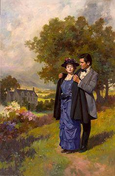 Art et illustrations romantiques  ( M.G)