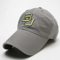 The Baylor Gunmetal Grey BU Hat (Pre-Order) – Bailes Brothers Clothiers