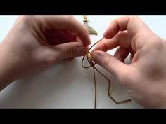 Návod na výrobu Shamballa náramku - YouTube