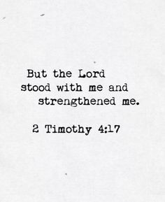 No matter what you are going through god will always be there with you and he will strengthen you through whatever you are going through!! Please just put faith in him and he will do his job
