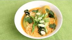My Thai Inspired Noodle Soup Recipe - Laura in the Kitchen - Internet Cooking Show Starring Laura Vitale