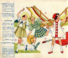 Bleuette : catalogue printemps-été 1938. - Ribambelles & Ribambins