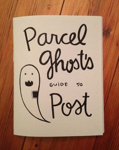Parcel Ghost's Guide to Post mail zine by thimblewinder on Etsy, $3.00