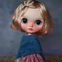 Custom Blythe Doll by Umami Baby