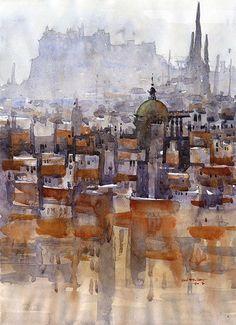 Iain Stewart Watercolors                                                                                                                                                                                 Mehr