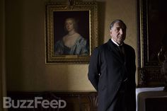 "Ever the vigilant sentry, Carson keeps a watchful eye over the goings on at Downton. ""What is the point of living if we don't let life change us?"" he once asked. Yet Carson remains an implacable force of constancy in a world that is in flux. 
