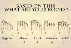 Where do you origin? Just look at your toes...is it true?