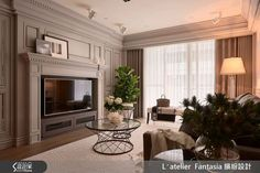 INTERIOR | 34평 네오클래식컬 st. 아파트 인테리어 Living Area, Living Room, House Design, Interior, Home Decor, Classic, Indoor, Homemade Home Decor, Design Interiors