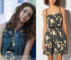 Fiona Gallagher (Emmy Rossum) wears this floral printed dress in this episode of Shameless. It is the Kimchi Blue Nora Dress. Buy [...]