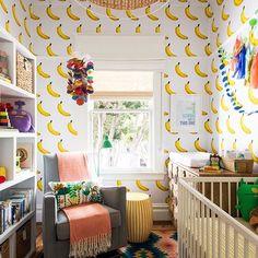 Bundle Of Joy - This Nursery Is Bananas - And We Love It - Photos