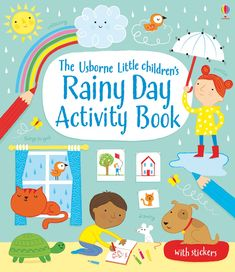 "Find out more about ""Little children's rainy day activity book"", write a review or buy online."
