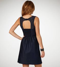 Corset dress with open back? Just a little bit sexy :)