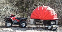 Read more about motorcycle camping gear ideas tent Click the link for more. Camping List, Family Camping, Camping Gear, Camping Hacks, Minivan Camping, Camping Photo, Camping Equipment, 4x4, Atv Trailers