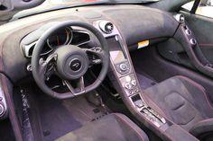 Interiores McLaren 650S  #LuxuryCars #Cars #SportsCars #SuperSports