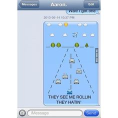 Ridin' Dirty | 23 Creative Emoji Masterpieces
