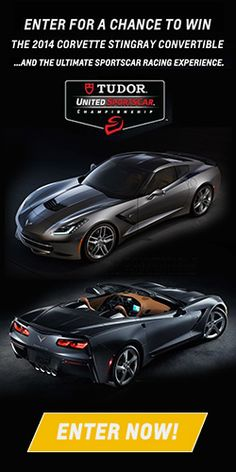 Win A 2014 Corvette Stingray Convertible