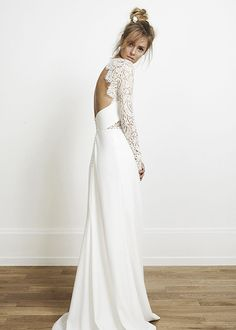 Olsen wedding dress by Rime Arodaky at The Mews Bridal Notting Hill