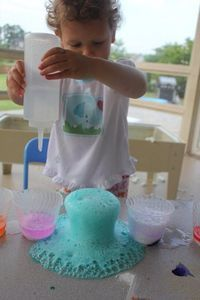 Science experiments for toddlers!!