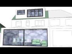 Design Concept for House Extension With Roof Windows and Dormer Loft Conversion By Holland And Green Dormer Loft Conversion, Loft Conversions, Roof Window, Loft Ideas, House Extensions, Lofts, 3d Design, Holland, My House
