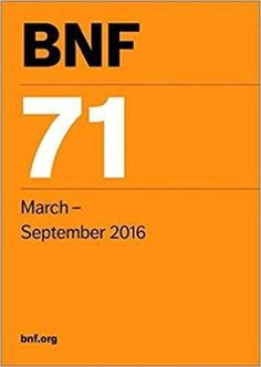 Download British National Formulary BNF 71  PDF Visit (MedBooksPDF) NOW #telegram https://t.me/freemedicalbooks