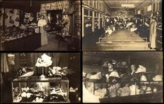 1448  Lot of Hat Shop Interiors on LiveAuctioneers 20b02f25271