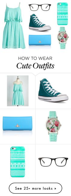"""Untitled #96"" by zabine99 on Polyvore featuring Converse, Vivienne Westwood, Casetify and Olivia Pratt"
