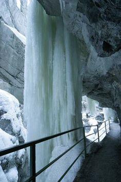 Winter-Ausflug in die Breitachklamm