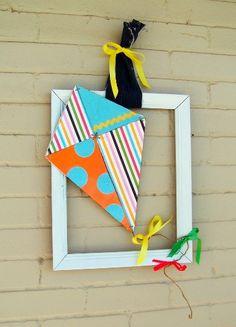 Cute Kite Wreath!