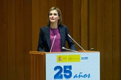 Queen Letizia of Spain Photos: Queen Sofia Attends The 25th Anniversary Ceremony of the Spanish National Transplant Organization