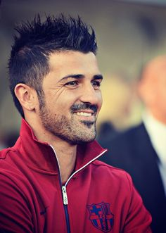 David Villa - Why do soccer players have the best hair?