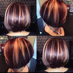 45 Awesome Burgundy Shades For All Type Of Hairs Galaxy Hair Color, Ombre Hair Color, Medium Brown Hair Color, Brown Hair Colors, Short Lilac Hair, Brown Hair With Caramel Highlights, Gray Highlights, Dark Auburn Hair Color, Silver Blonde Hair